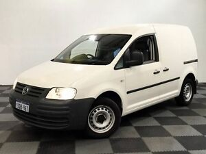 2008 Volkswagen Caddy 2KN SWB DSG Custom/ 6 Speed Sports Automatic Dual Clutch Van Edgewater Joondalup Area Preview