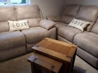Three And Two Seater Reclining sofas