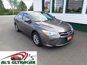2015 Toyota Camry LE only $166 bi-weekly all in!