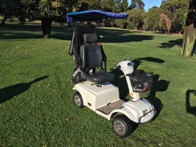 Round Rider golf scooter or ideal as a general mobility scooter