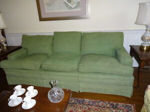 Comfy Green Couch - In Great Condition!!