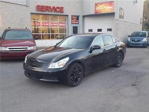 2007 Infiniti G35 Sedan G35x Luxury (GARANTIE 1 ANS INCLUS)