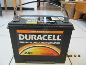Classic Duracell 24F Superior Life 890 CCA Battery Like New!!!!!
