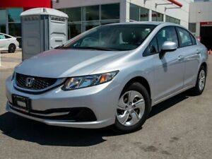 2013 Honda Civic Sdn LX 4dr FWD Sedan