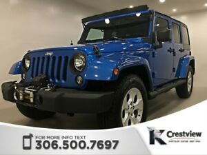 2015 Jeep Wrangler Unlimited Sahara | Heated Seats | Navigation