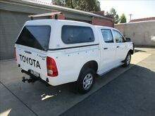 2007 Toyota Hilux KUN26R 07 Upgrade SR (4x4) White 5 Speed Manual Holden Hill Tea Tree Gully Area Preview