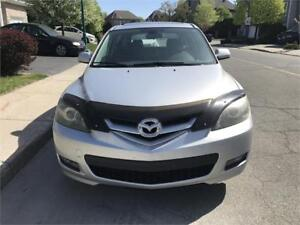2007 Mazda 3 Hatchback Cuir, Toit ouvrant