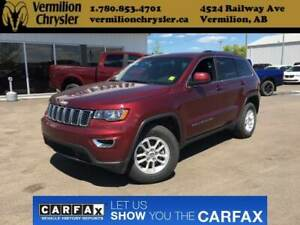 2018 Jeep Grand Cherokee Laredo, Back-up Camera & Sensors, Bluet