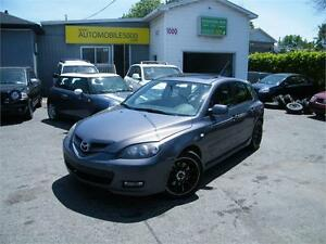 2008 Mazda 3 GT , CUIR , TOIT OUVRANT .