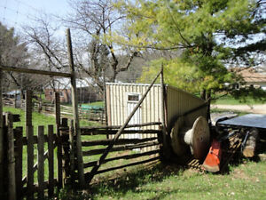 1/2 Acre 12' Tall Fenced Area for Rent in Formosa -Monthly Rent Kitchener / Waterloo Kitchener Area image 3