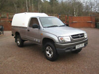 2005 05 Toyota Hilux 2.5 250 EX 2dr Silver Metallic