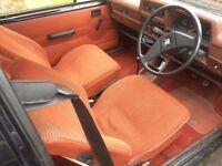Vauxhall Nova terracotta interior swap for bucket seats