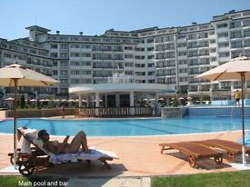 Spacious one bed sea view apartment in 5 star Bulgaria Spa resort - 15% discount July / August