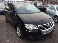 2009 VOLKSWAGEN TOURAN 2.0 TDI Sport DIESEL 12 MTS MOT and WARRANTY AVAIL
