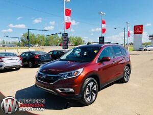 2015 Honda CR-V Touring- 7 Year 130,000KM Warranty, 2 Sets of Ti