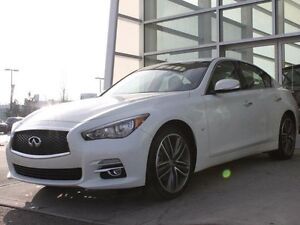 2015 Infiniti Q50 AWD/HEATED FRONT SEATS/HEATED STEERING WHEEL/N Edmonton Edmonton Area image 3