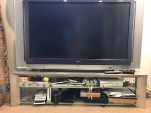 55 inch SONY Projection TV with matching Sony Stand