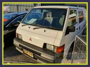 2000 Mitsubishi Express SJ M00 White Manual Van Lansvale Liverpool Area Preview