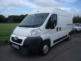PEUGEOT BOXER 335 L2H2 MWB SHR - Fully Electric, White, Manual, 2010