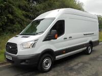 2014(14) Ford Transit T350 125 XLWB HIGH ROOF JUMBO L4 H3, NEW SHAPE, FINANCE?