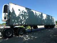 Reefer Trailers Selling By Auction