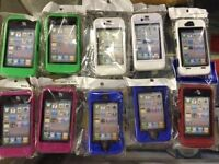 6 Different Colours iPhone 4/4S Otterbox Type High Quality Cases