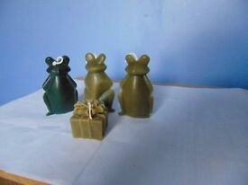Pure Beeswax Candles x 4