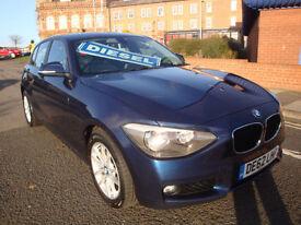 62 BMW 118D SE 5 DOOR 143 BHP DIESEL £30 YEAR ROAD TAX