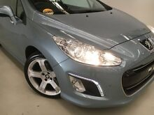 2012 Peugeot 308 T7 MY12 CC Allure Blue 6 Speed Sports Automatic Convertible Edgewater Joondalup Area Preview