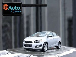 2015 Chevrolet Sonic LT, MOONROOF, BLUETOOTH, HEATED FRONT SEATS