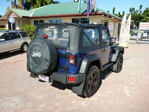 2009 Jeep Wrangler JK MY2009 Sport Blue Manual Softtop Rosslea Townsville City Preview