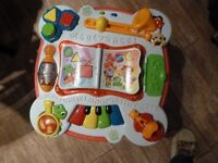 Leap Frog Learning Bilingual Table