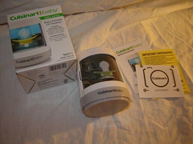 Cuisinart-Baby Series Portable UV Pacifier/Bottle Nipple Sterilizer CPS-100