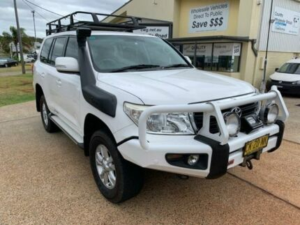 2012 Toyota Landcruiser VDJ200R MY12 GXL (4x4) White 6 Speed Automatic Wagon Port Macquarie Port Macquarie City Preview