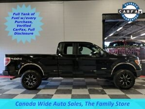 2012 Ford F-150 4X4, Extended Cab, XLT, 3.5L Eco Boost