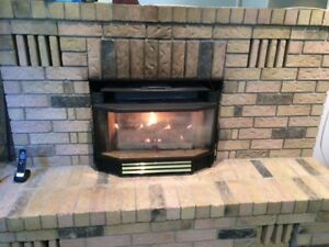Napoleon gas fireplace good for parts