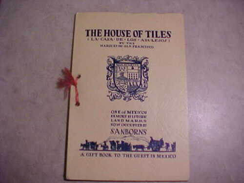 Sanborns-The House of Tiles (La Casa de los Azulejos), Mexico 1936