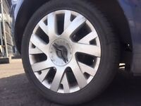 "SET OF 4 GENUINE CITROEN C4 VTS 17"" ALLOY WHEELS & TYRES"