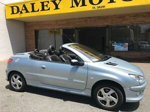 2003 Peugeot 206 CC Blue 4 Speed Automatic Cabriolet Armadale Armadale Area Preview
