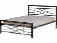 New Metal bedframe stylish design 3ft & 4ft6