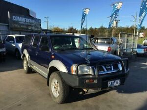 2003 Nissan Navara D22 ST-R (4x4) Blue 5 Speed Manual Dual Cab Pick-up Lilydale Yarra Ranges Preview