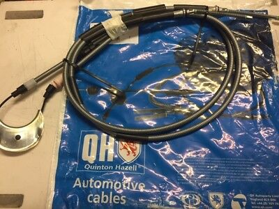 Quinton Hazell Handbrake Cable for FORD ESCORT MK 2 RS2000-1975 to 1980
