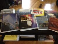Electrical Textbooks first year