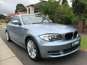2009 BMW 123d E82 MY10 Steptronic Silver 6 Speed Sports Automatic Coupe Croydon Burwood Area Preview