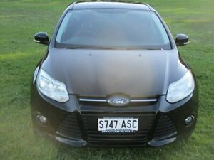 2012 Ford Focus LW MkII Trend PwrShift Black 6 Speed Sports Automatic Dual Clutch Hatchback Gepps Cross Port Adelaide Area Preview