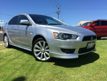 2010 Mitsubishi Lancer CJ MY10 VR-X Silver 6 Speed Constant Variable Sedan Wangara Wanneroo Area Preview