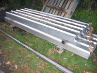 box profile galvanised roofing sheets. 8ft and 10ft long x 800 wide cover