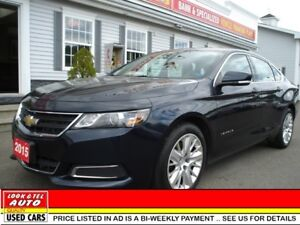 2015 Chevrolet Impala LS $15995 financed price - 0 down payment*