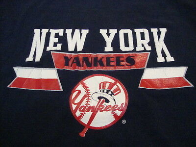 Vintage MLB New York Yankees Major League Baseball Champion Apparel T Shirt M