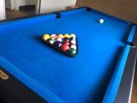 6' Riley Pool Table